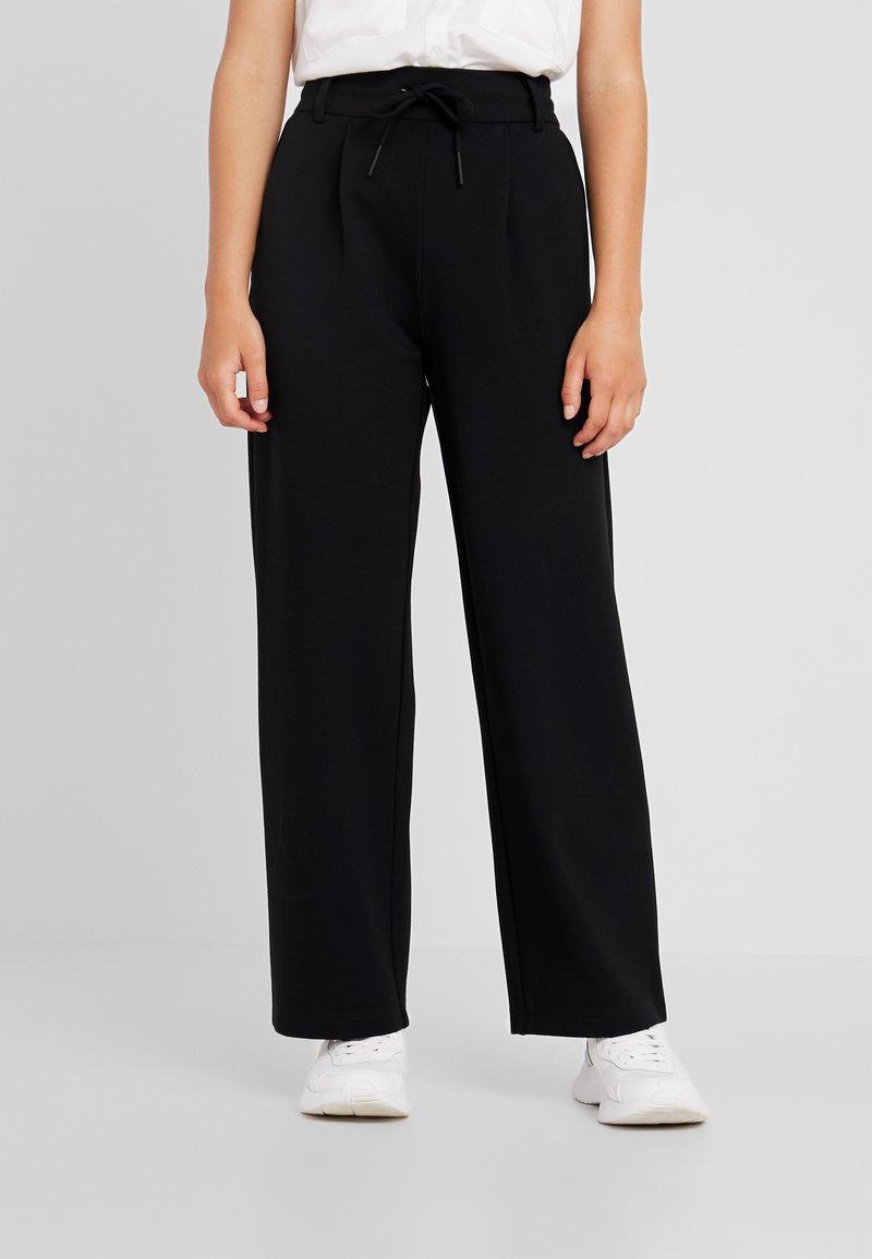 ONLY Petite - ONLPOPTRASH EASY STRAIGHT PANT - Pantalon classique - black