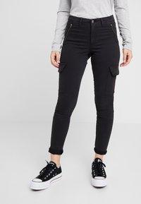 ONLY Petite - ONLPURPOSE REG ANKLE - Pantalon classique - black - 0