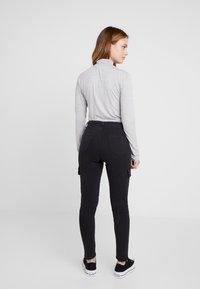 ONLY Petite - ONLPURPOSE REG ANKLE - Pantalon classique - black - 2