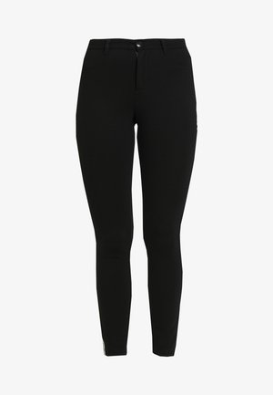 ONLEVIE  ANKLE  PIPING - Leggings - black