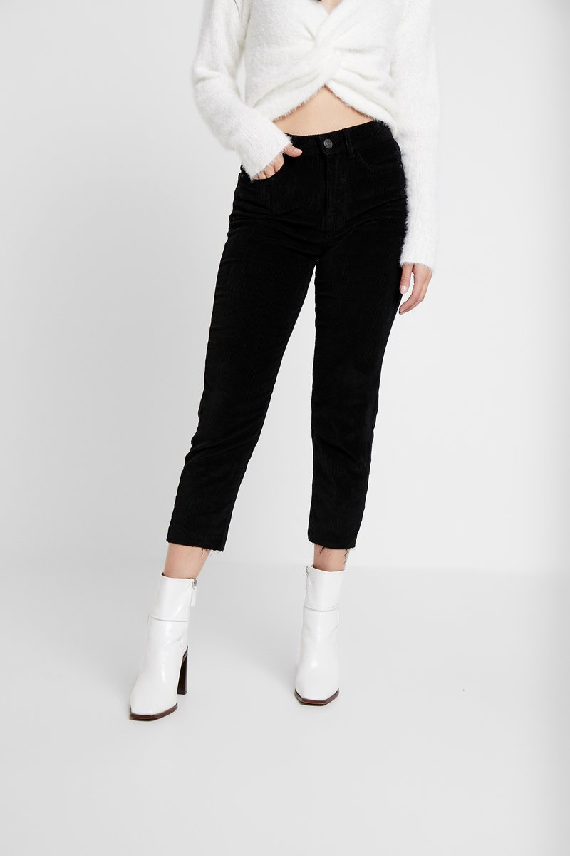 ONLY Petite - ONLEMILY GLOBAL - Trousers - black