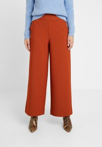 ONLY Petite - ONLINCA WIDE PANTS - Kalhoty - ginger bread - 0