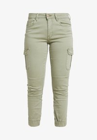 ONLY Petite - ONLMISSOURI ANKLE CARGO PANT  - Trousers - oil green - 4