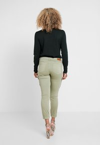 ONLY Petite - ONLMISSOURI ANKLE CARGO PANT  - Trousers - oil green - 2