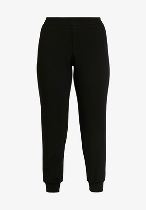 ONLADELE-ROCKY PANTS - Stoffhose - black