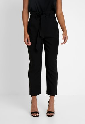 ONLALLY PANT - Trousers - black