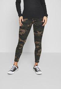 ONLY Petite - ONLNINE ESTER PANTS - Pantalones - peat - 0