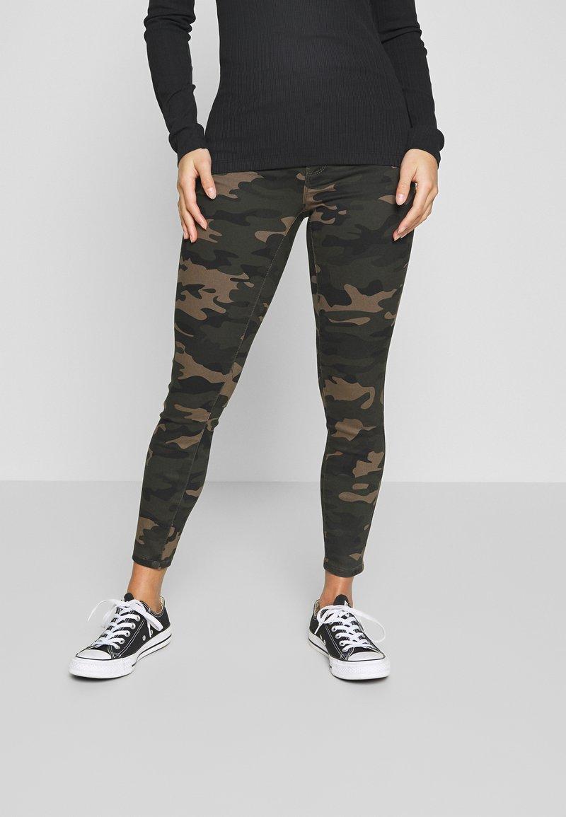 ONLY Petite - ONLNINE ESTER PANTS - Pantalones - peat