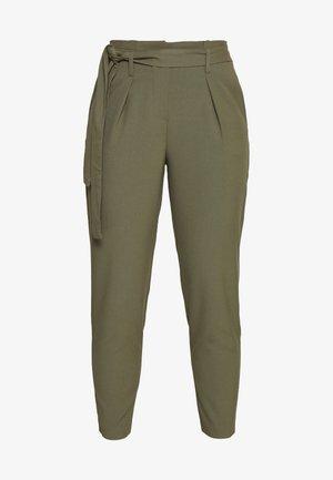 ONLNICOLE PAPERBAG ANKEL PANTS - Kalhoty - kalamata