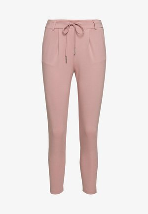 ONLPOPTRASH EASY COLOUR PANT PETIT - Spodnie materiałowe - pale mauve