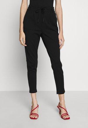 ONLPOPTRASH EASY COLOUR PANT PETIT - Kalhoty - black