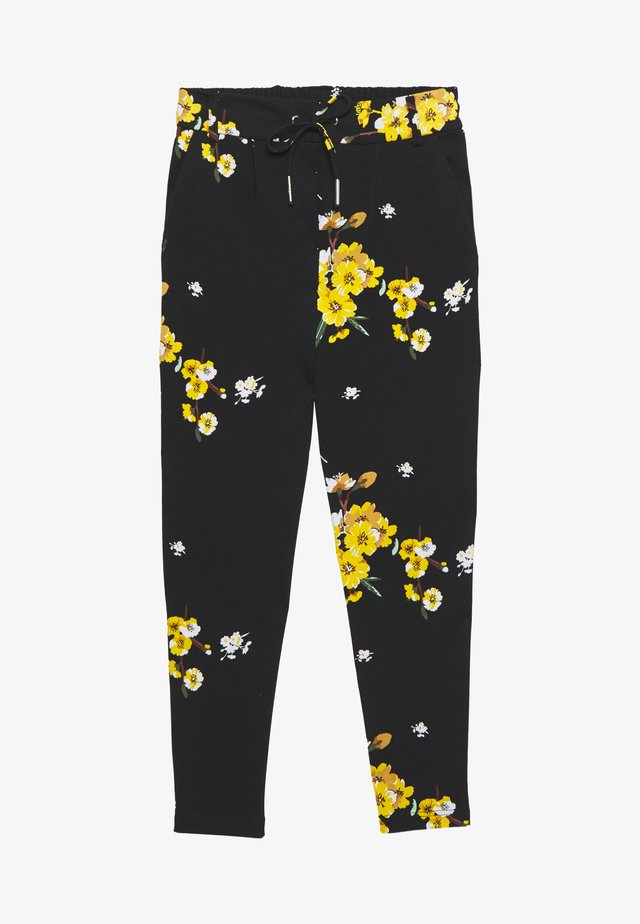 ONLPOPTRASH EASY PANT  - Broek - black/golden