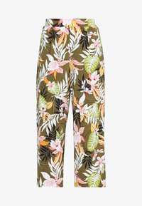 ONLY Petite - ONLLIZBETH CROPPED PANT - Trousers - kalamata - 0