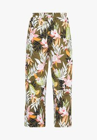 ONLY Petite - ONLLIZBETH CROPPED PANT - Trousers - kalamata - 1