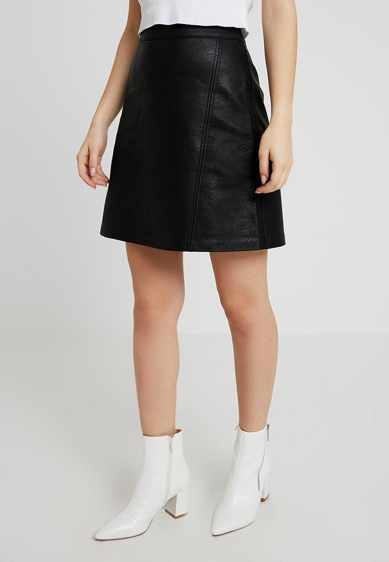 ONLY Petite - ONLALLISON SKIRT - Minijupe - black