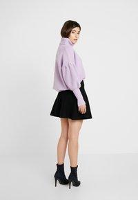 ONLY Petite - ONLNEW DALLAS SKIRT - Áčková sukně - black - 2