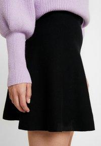 ONLY Petite - ONLNEW DALLAS SKIRT - Áčková sukně - black - 4