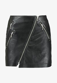 ONLY Petite - ONLNAEVE TILDA MINI SKIRT - A-Linien-Rock - black - 3