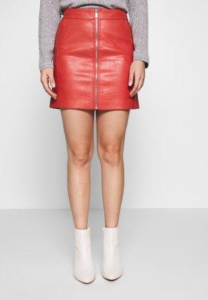 ONLGLOW  SKIRT - Spódnica trapezowa - hot sauce