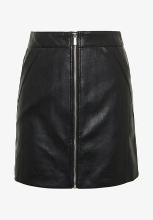ONLGLOW  SKIRT - A-snit nederdel/ A-formede nederdele - black