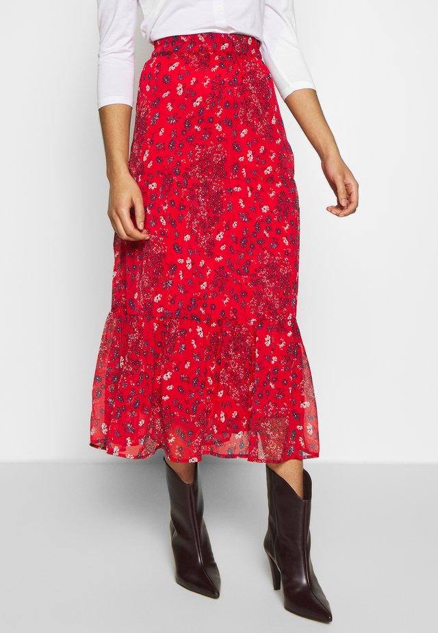 ONYNABBY MID CALF - Mini skirts  - bittersweet/april flower
