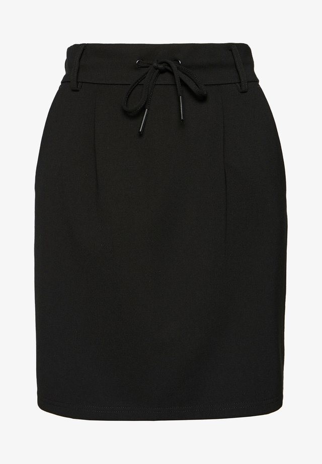 ONLPOPTRASH EASY SKIRT - Spódnica mini - black