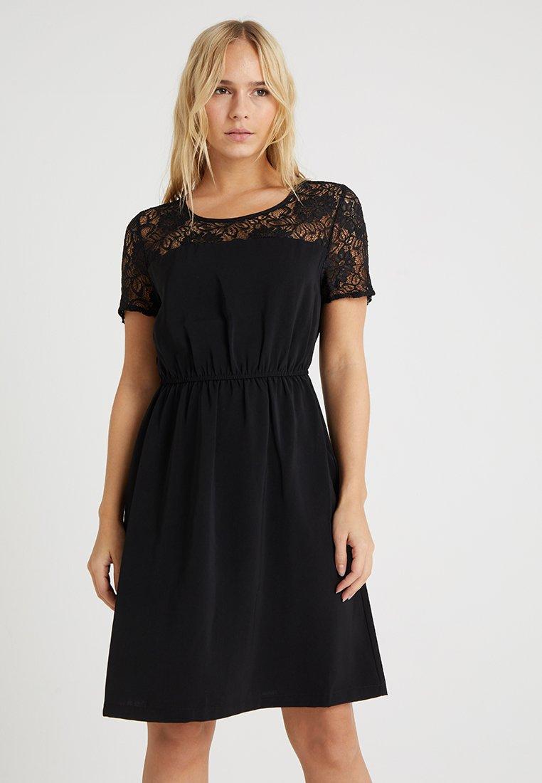 ONLY Petite - ONLGLAM DRESS - Freizeitkleid - black