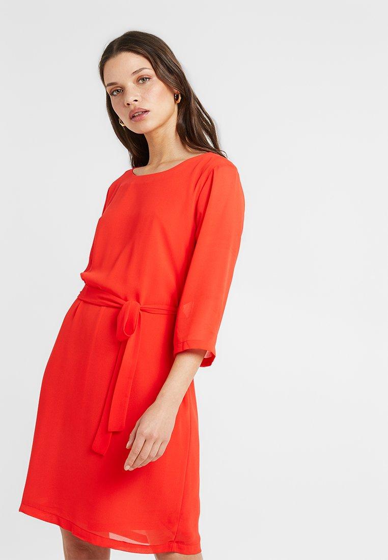 ONLY Petite - ONLSTAR 3/4 DRESS - Day dress - flame scarlet