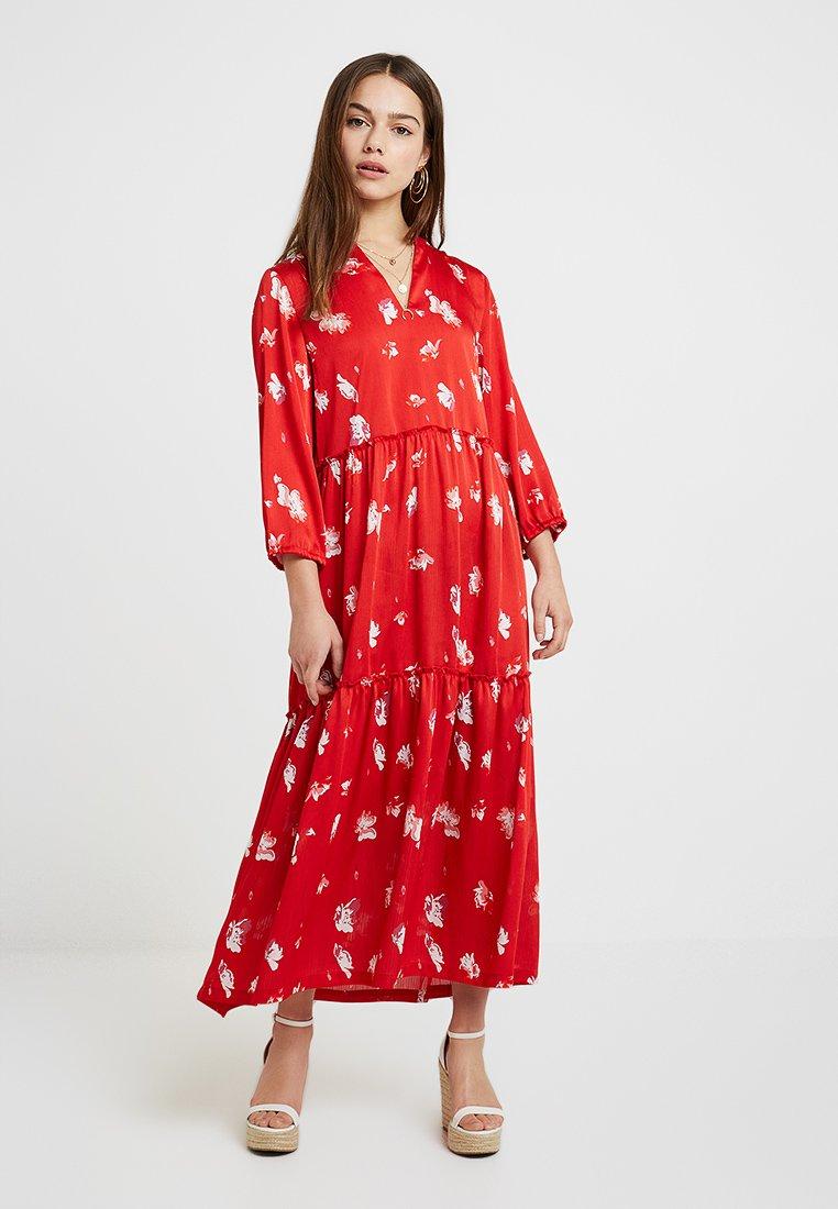 ONLY Petite - ONLGIZA DRESS - Maxi dress - flame scarlet