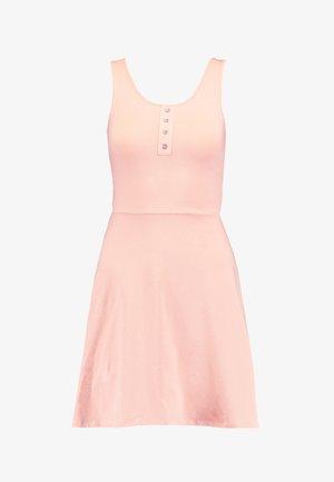 ONLNIELLA BUTTON DRESS - Jerseyjurk - rose smoke