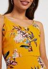 ONLY Petite - ONLLEAH TIE SHORT STRAP DRESS - Blusenkleid - golden yellow