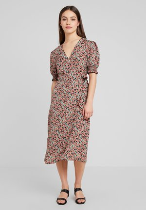 ONLDORA WRAP DRESS - Kjole - black