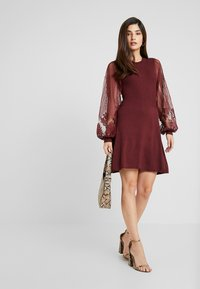 ONLY Petite - ONLLACEY DRESS - Jumper dress - tawny port - 2