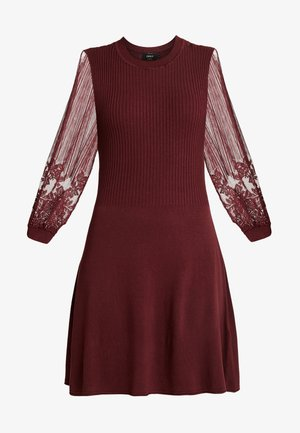 ONLLACEY DRESS - Jumper dress - tawny port