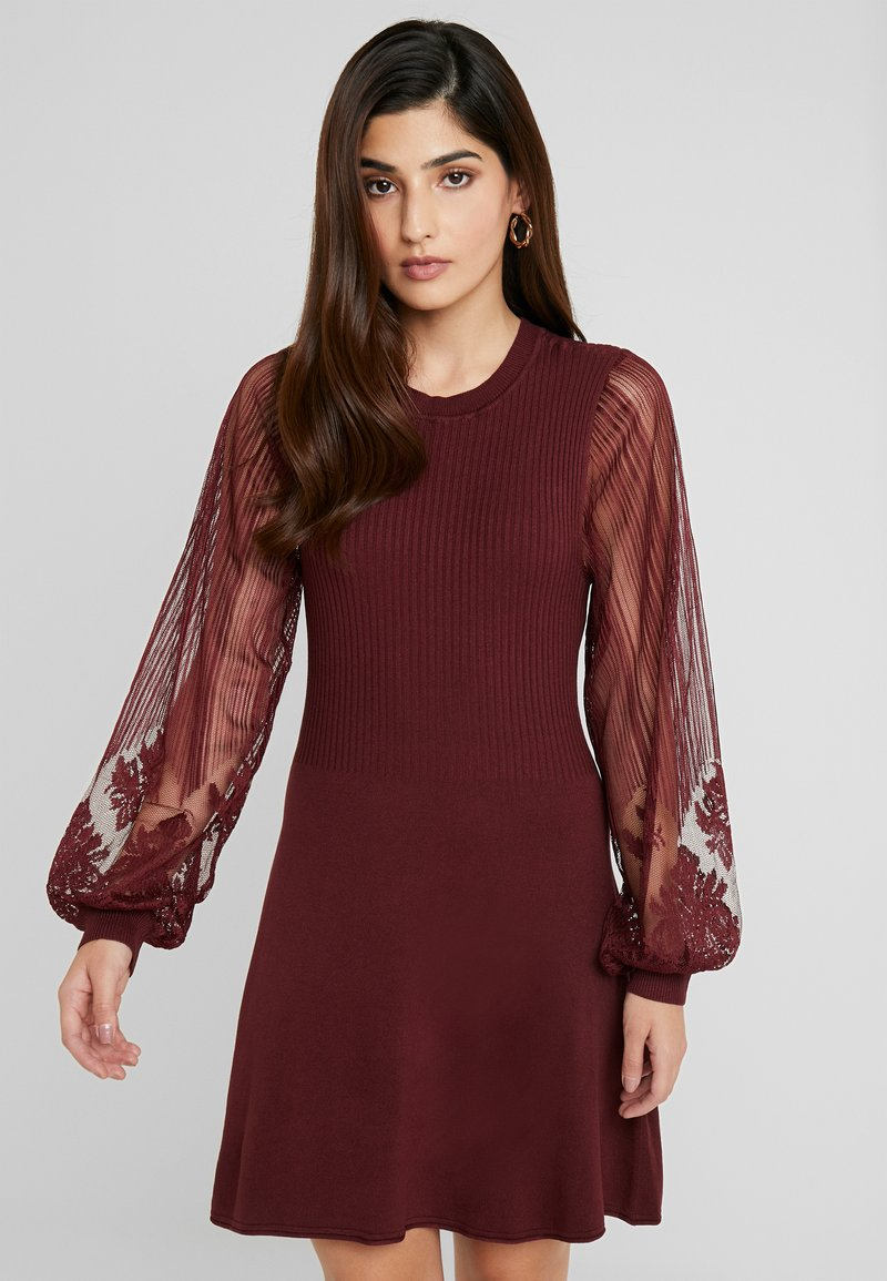 ONLY Petite - ONLLACEY DRESS - Jumper dress - tawny port