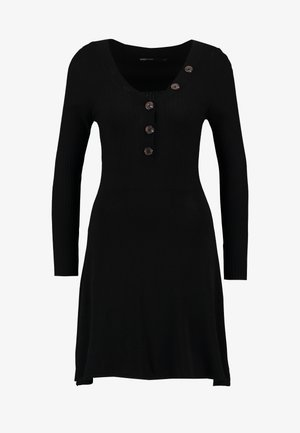 ONLIZA DRESS - Robe pull - black