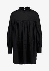 ONLY Petite - ONLMAJA HIGHNECK DRESS - Robe d'été - black - 5