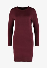 ONLY Petite - ONLFRUA DRESS - Gebreide jurk - burgundy - 5