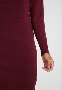 ONLY Petite - ONLFRUA DRESS - Gebreide jurk - burgundy - 6