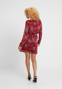 ONLY Petite - ONLFMICHELE SHORT DRESS - Vestito estivo - merlot - 3