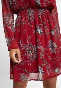 ONLY Petite - ONLFMICHELE SHORT DRESS - Vestito estivo - merlot - 5