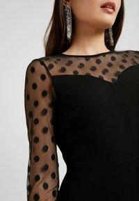 ONLY Petite - ONLVELMA INSERT DRESS - Vestito estivo - black - 6