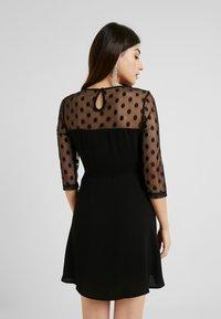 ONLY Petite - ONLVELMA INSERT DRESS - Vestito estivo - black - 3