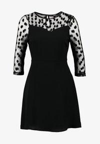 ONLY Petite - ONLVELMA INSERT DRESS - Vestito estivo - black - 5