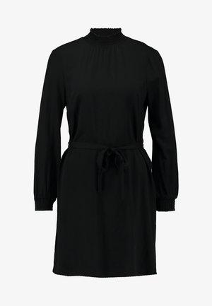 ONLFALMA SMOCK DRESS SOLID - Korte jurk - black
