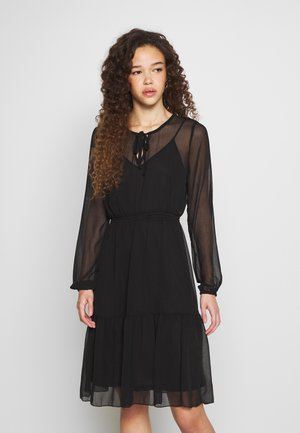 ONLTARA BOW DRESS - Day dress - black