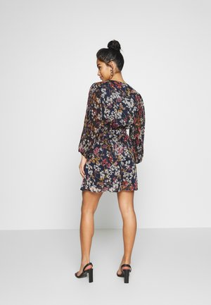 ONLDAISY SHORT DRESS - Vestido informal - sky captain/cool branches