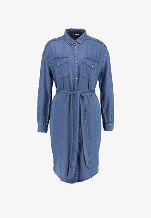 ONLFBELISIMA KNEE DRESS - Vestito estivo - light blue denim