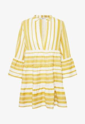 ONLSALLY ATHENA  - Robe d'été - cloud dancer/golden spice athena