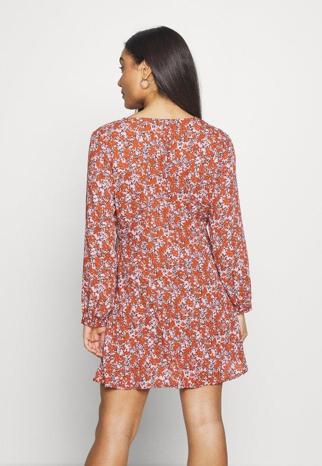 ONLAUGIE SHORT DRESS - Korte jurk - cradle pink